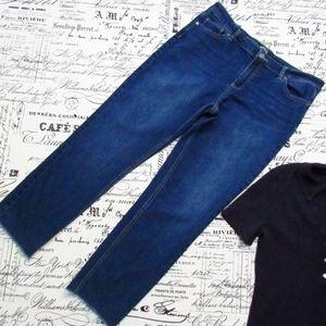 Buffalo Women's Fringe Hem Francesca 12/31 Jeans